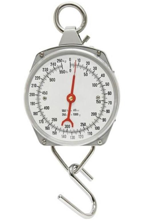 Nespecifikovano Levná závěsná váha - mechanický mincíř do 250 kg