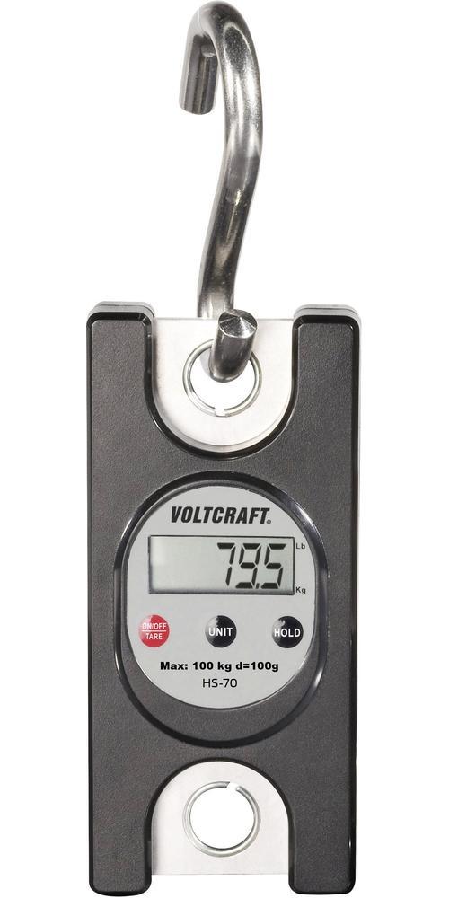 Voltcraft HS-70 digitální závěsná váha, do 100 kg - MINCÍŘ