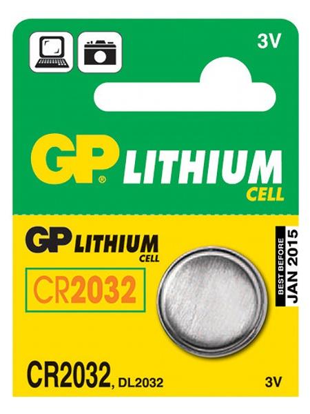 Knoflíková baterie - GP CR2016