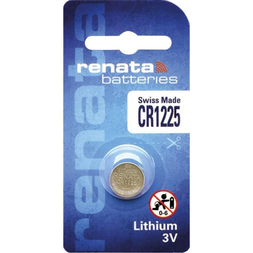 Conrad Knoflíková baterie Renata CR 1225, lithium, 700281