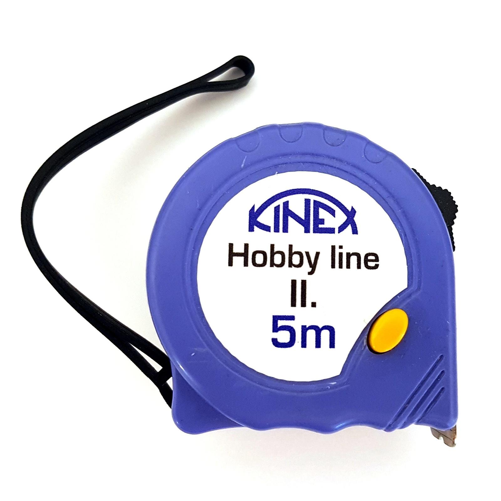Svinovací metr KINEX Hobby Line II 7,5m | 8004-2
