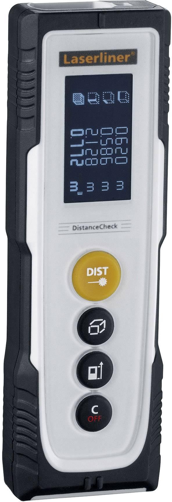 Laserový měřič vzdálenosti Laserliner DistanceCheck 080.810A, rozsah měření (max.) 20 m