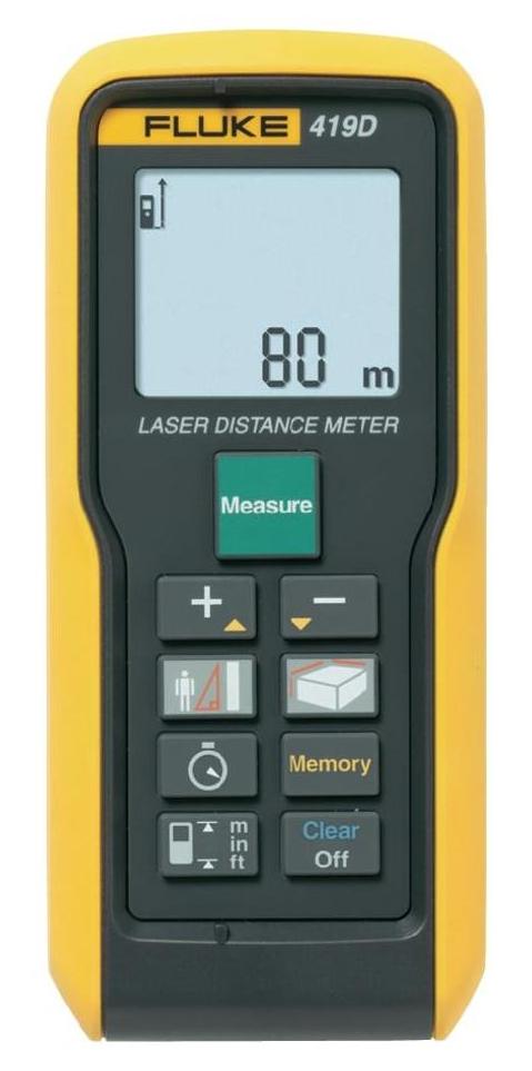 Laserový měřič vzdálenosti Fluke 419D, až 80 m