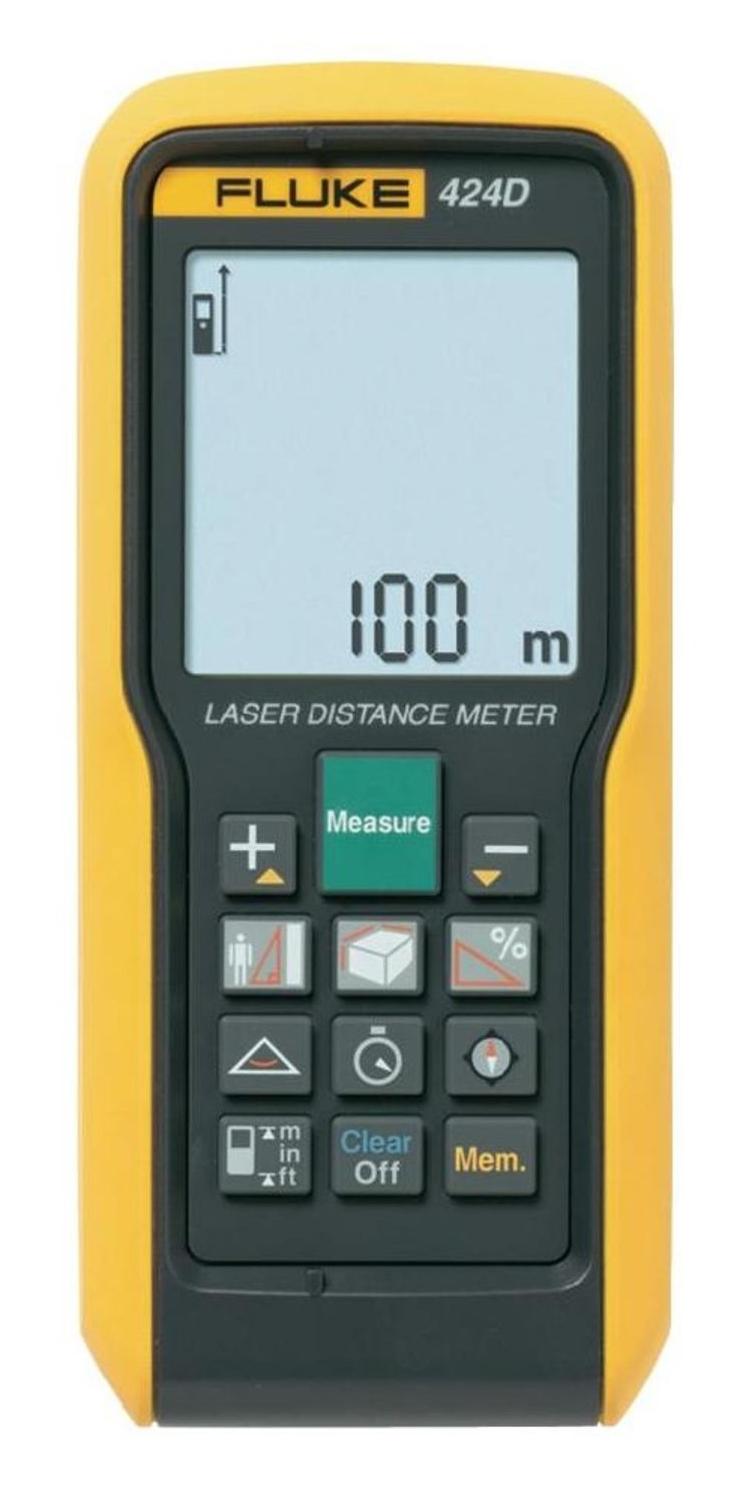 Laserový měřič vzdálenosti Fluke 424D, až 100 m