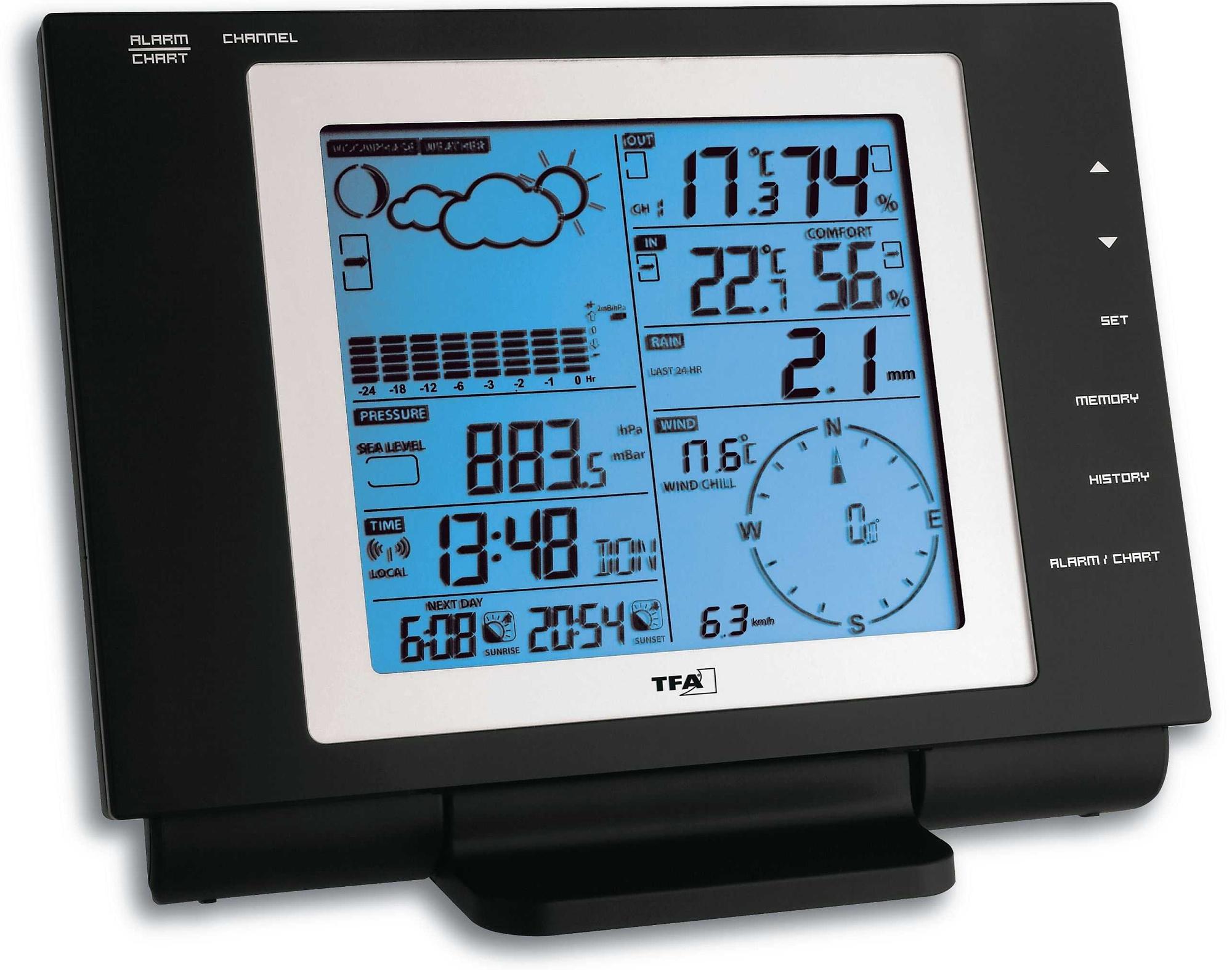 TFA Dostmann NEXUS TFA 35.1075 - Meteorologická stanice bezdrátová