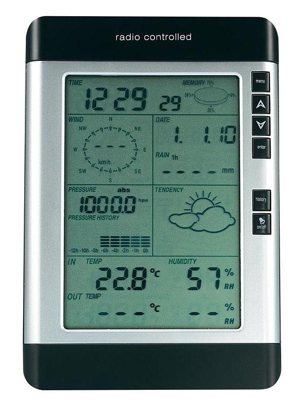 Conrad Bezdrátová meteorologická stanice WS-0101, komunikace s PC