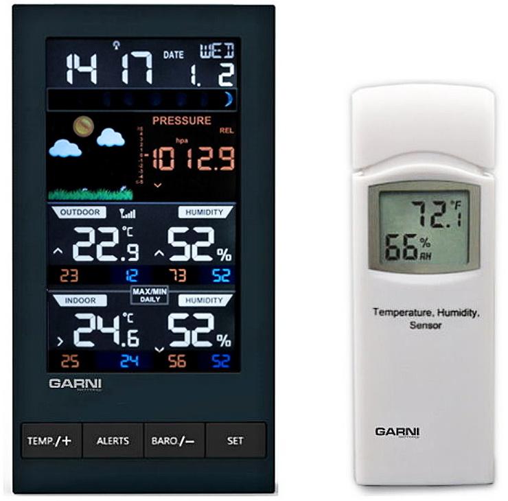 Garni technology Barevná meteorologická stanice GARNI 281
