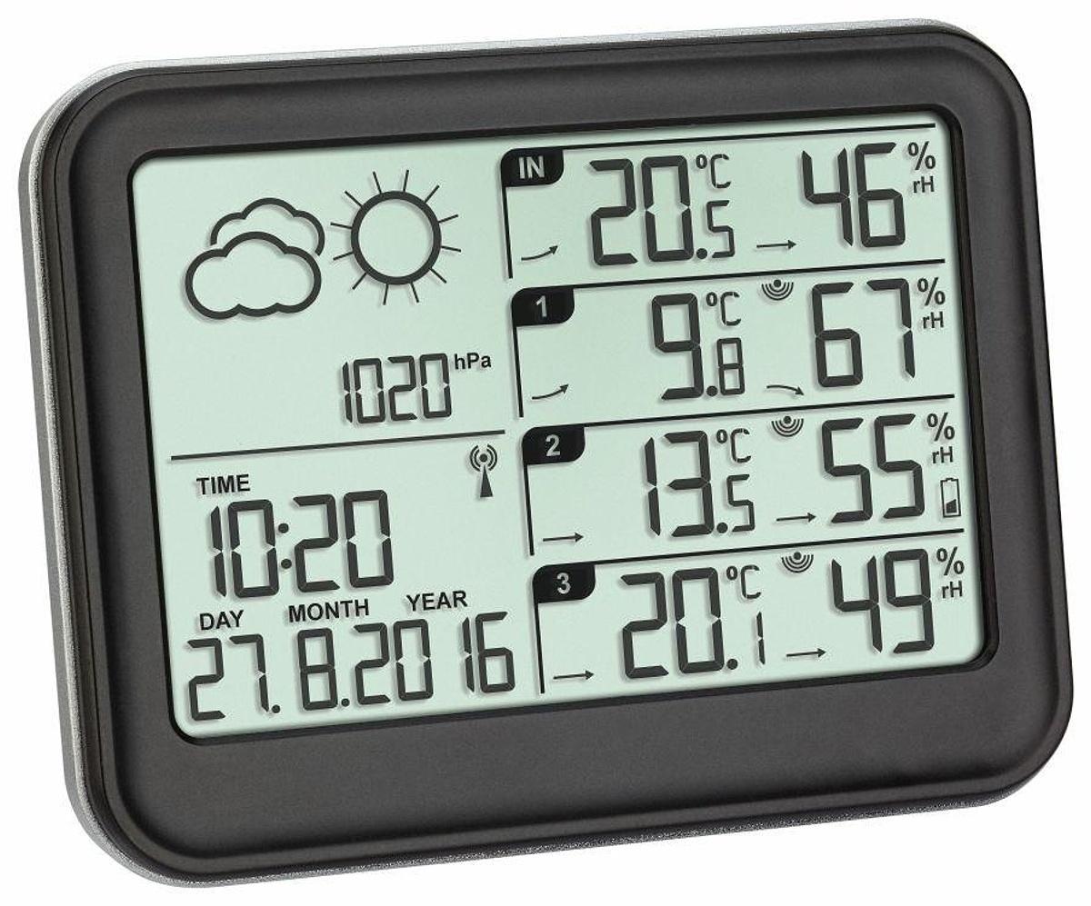 TFA Dostmann Meteostanice se třemi senzory teploty/vlhkosti TFA 35.1142.01 VIEW