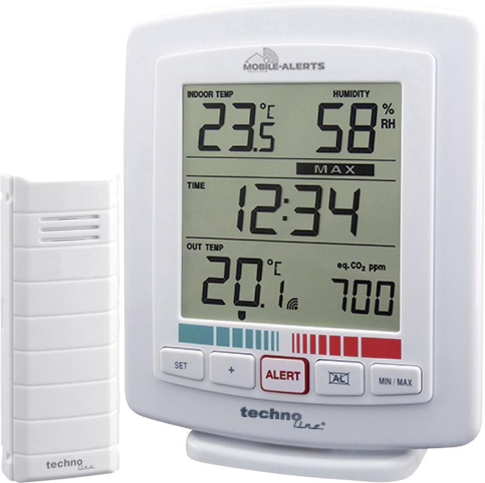 Techno Line Bezdrátový teplotní/vlhkostní/CO2 senzor Mobile-Alerts WL 2000