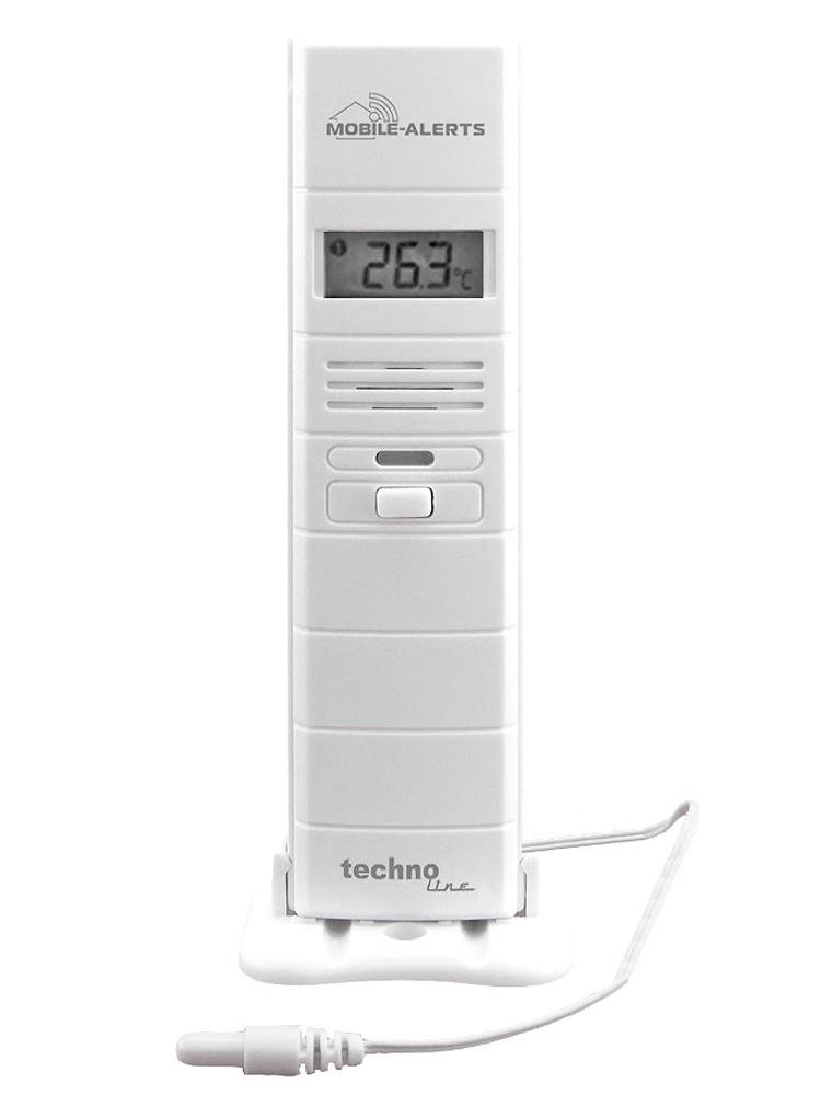 Techno Line Bezdrátové čidlo MOBILE-ALERTS MA10300 pro měření teploty a relativní vlhkosti vzduchu s teplotním čidlem na kabelu