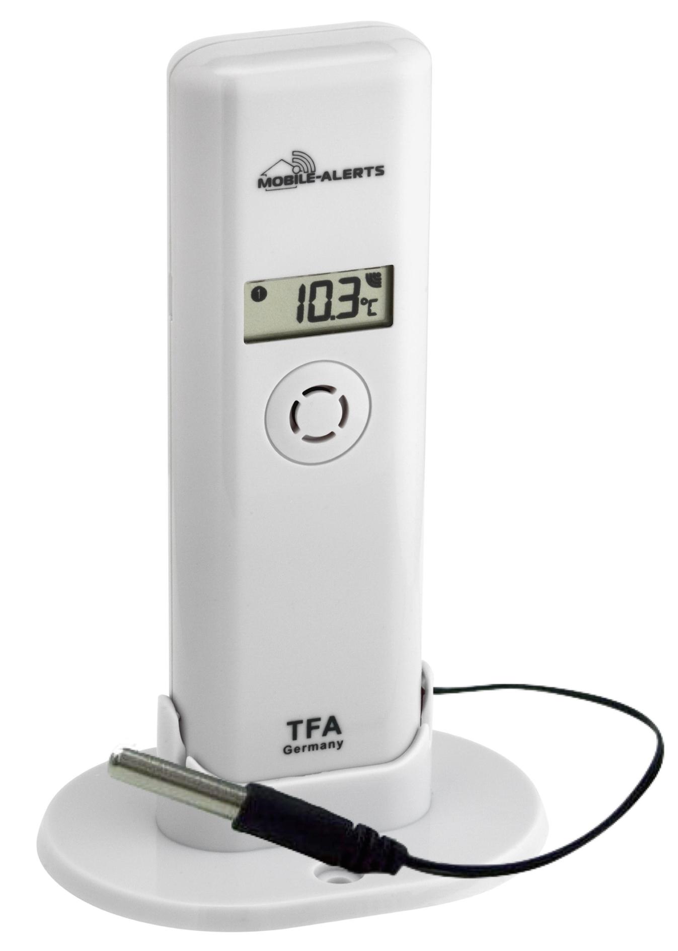 TFA Dostmann Bezdrátové čidlo teploty a vlhkosti s profi-kabelovým čidlem TFA 30.3302.02 PRO WEATHERHUB