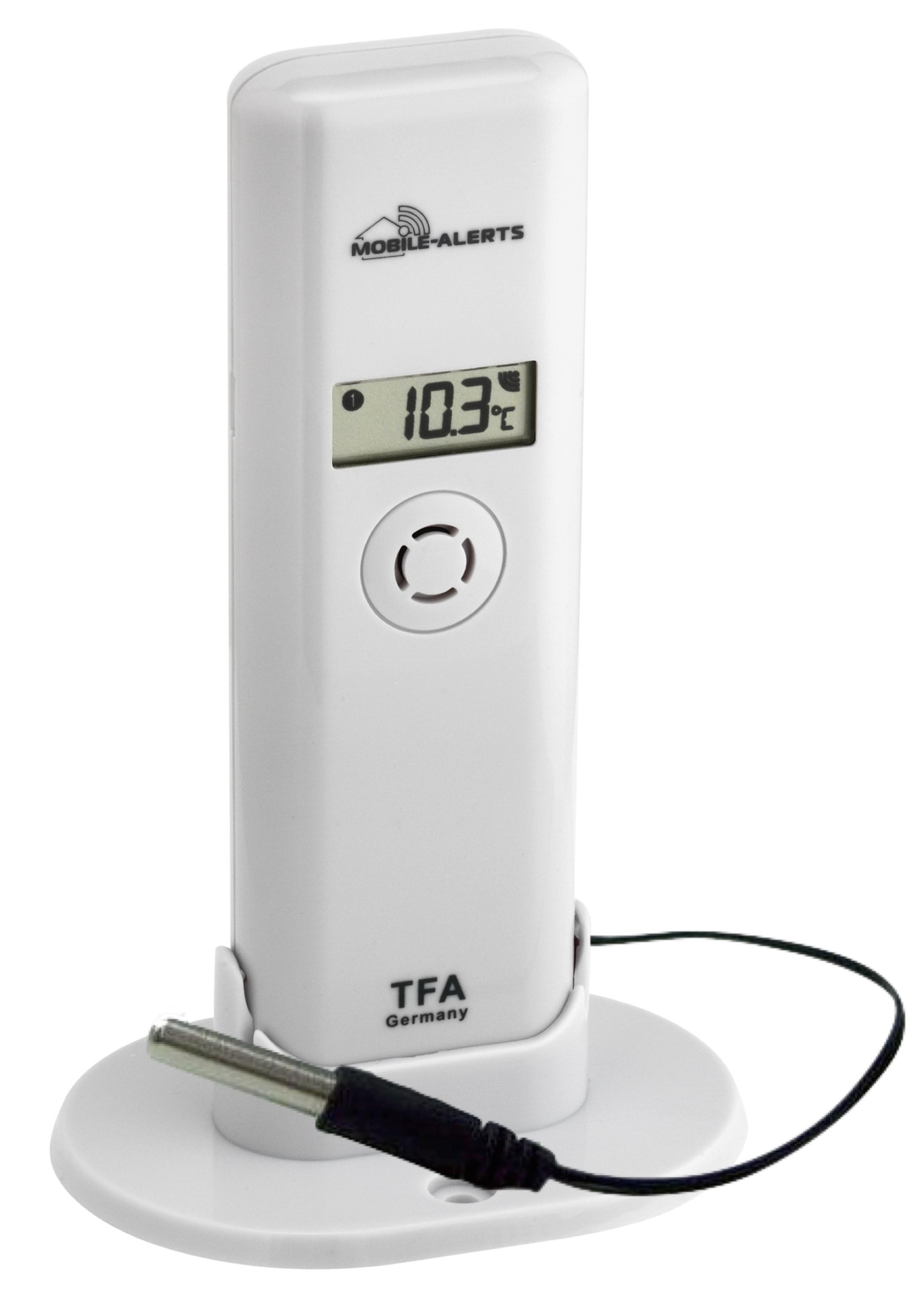 TFA Dostmann Bezdrátové čidlo teploty a vlhkosti s profi-kabelovým čidlem TFA 30.3302.02 PRO WE