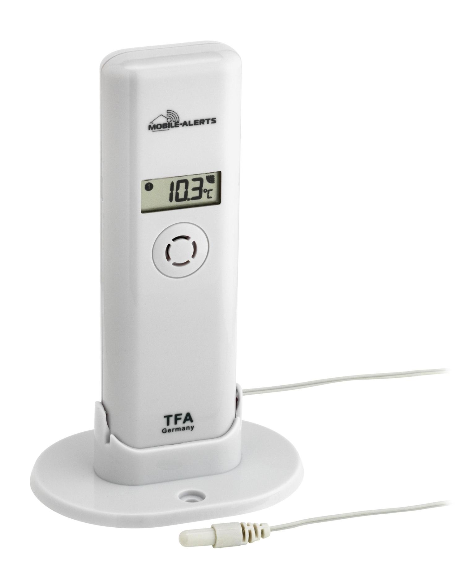 TFA Dostmann Bezdrátové čidlo teploty a vlhkosti s kabelovým senzorem TFA 30.3304.02 pro WEATHERHUB