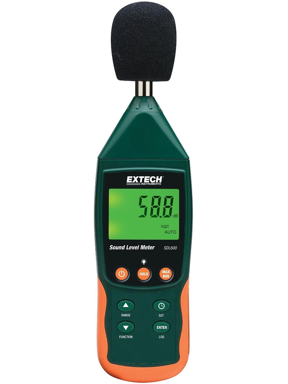 Hlukoměr Extech SDL600, datalogger, záznam na SD karty