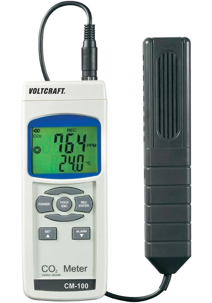 Přístroj k měření CO2 Voltcraft CM-100