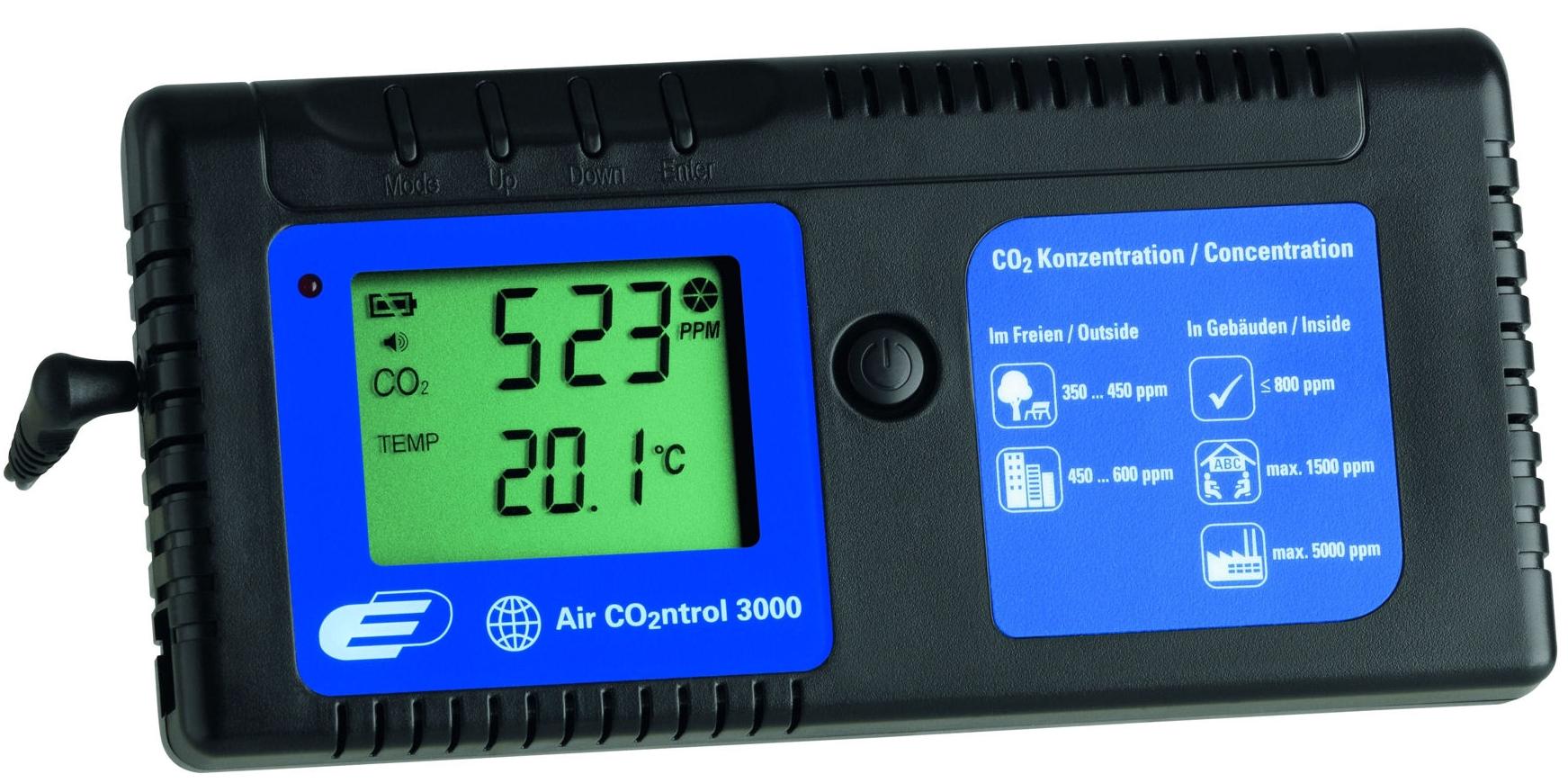 TFA Dostmann Indikátor CO2 TFA 31.5000 AirCO2ntrol 3000 + kalibrační list