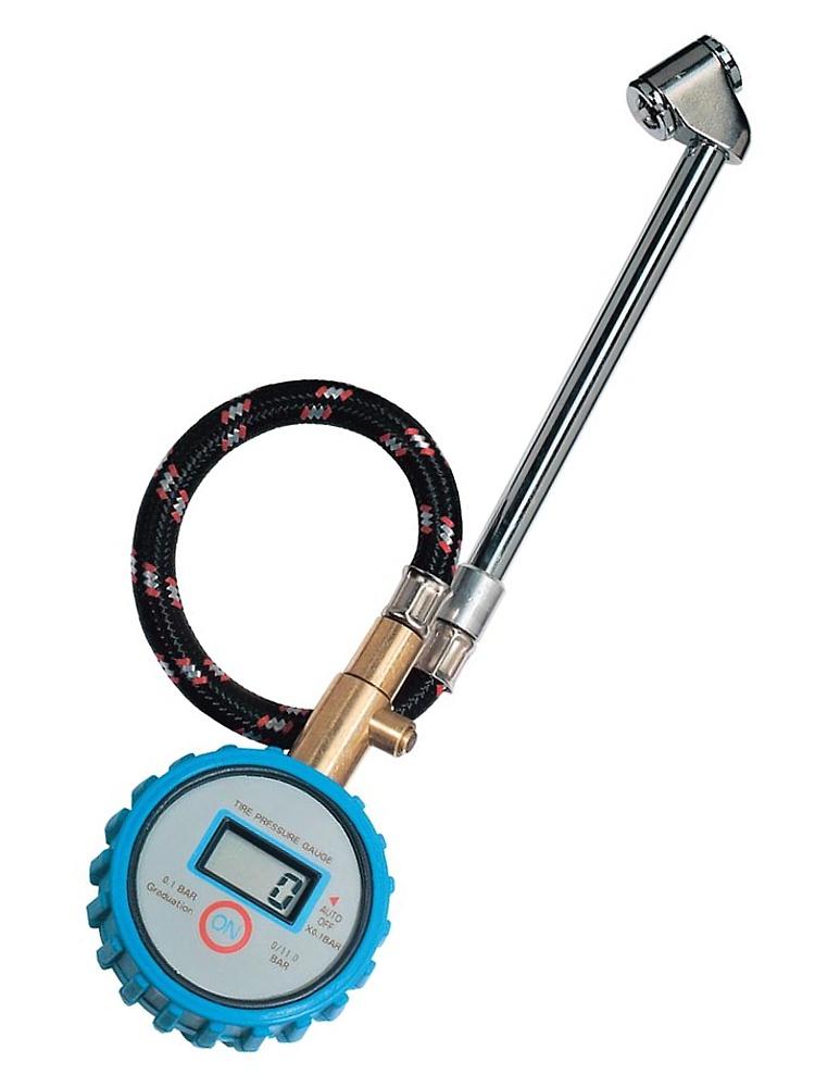Conrad Precizní digitální měřič tlaku v pneumatikách 0 až 11 bar