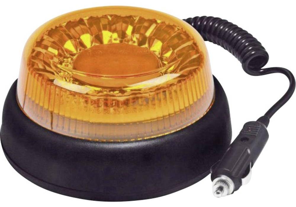 SecoRut Maják do autozásuvky SecoRüt, 95111, s magnetem, oranžová