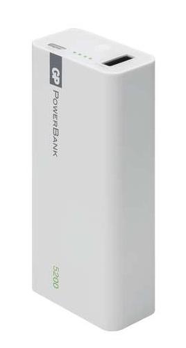 Power bank GP 1C05 5200mAh bílý