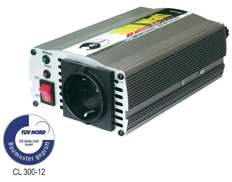 E-ast Měnič napětí 12V 230V do 300W