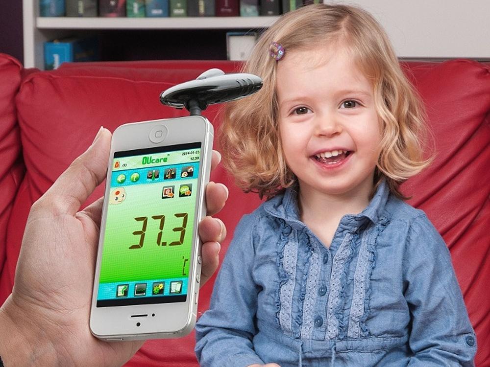 TFA Dostmann Infračervený teploměr TFA 31.1133.01 pro chytré telefony