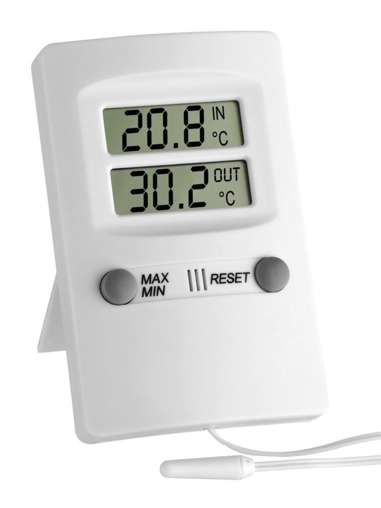 I & CS Digitální teploměr s teplotním čidlem + kalibrační list