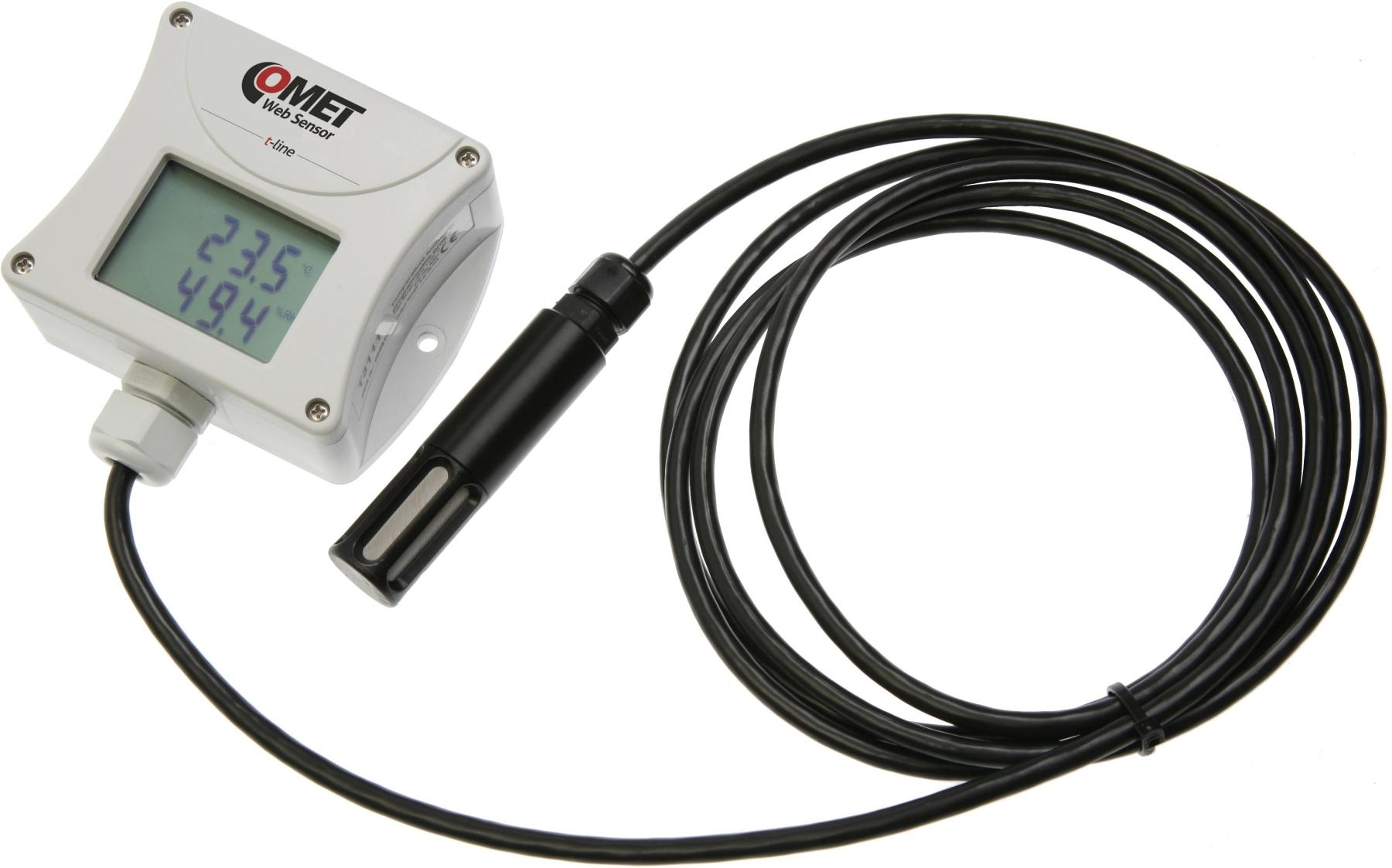 Comet Web Sensor T3511 - snímač teploty a vlhkosti s výstupem Ethernet