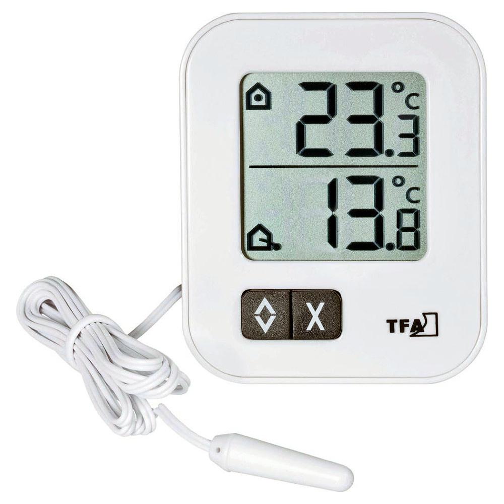 TFA Dostmann Digitální teploměr MIN-MAX s teplotním čidlem TFA 30.1043.02