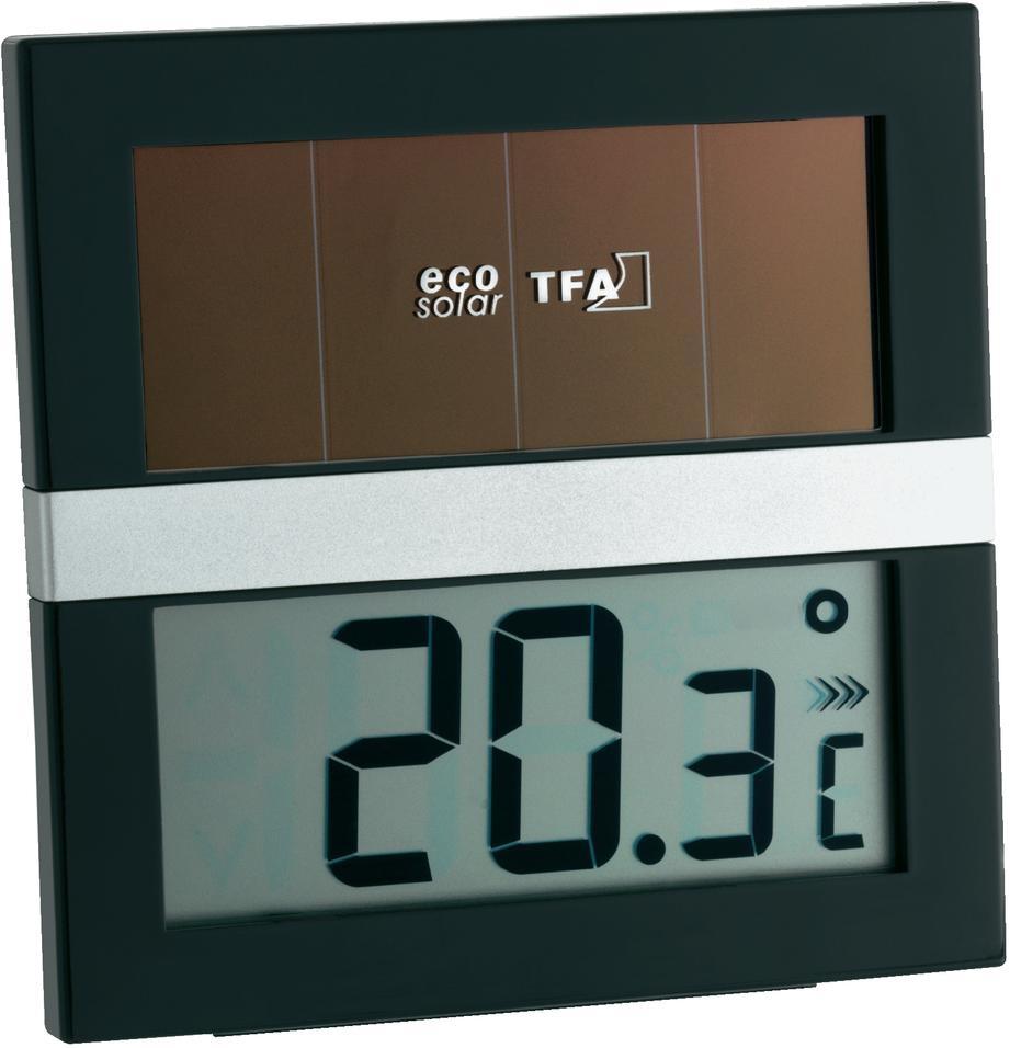 TFA Dostmann Digitální solární teploměr TFA 30.1037 ECO SOLAR