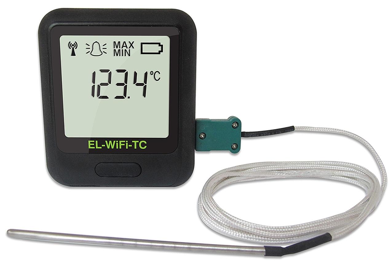 Corintech WiFi teplotní datalogger pro termočlánky J, K, N, T; WiFi-TC
