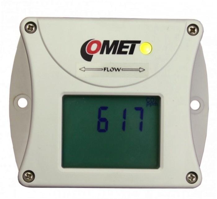 Comet Web Sensor T5545 - snímač koncentrace CO2 s výstupem Ethernet