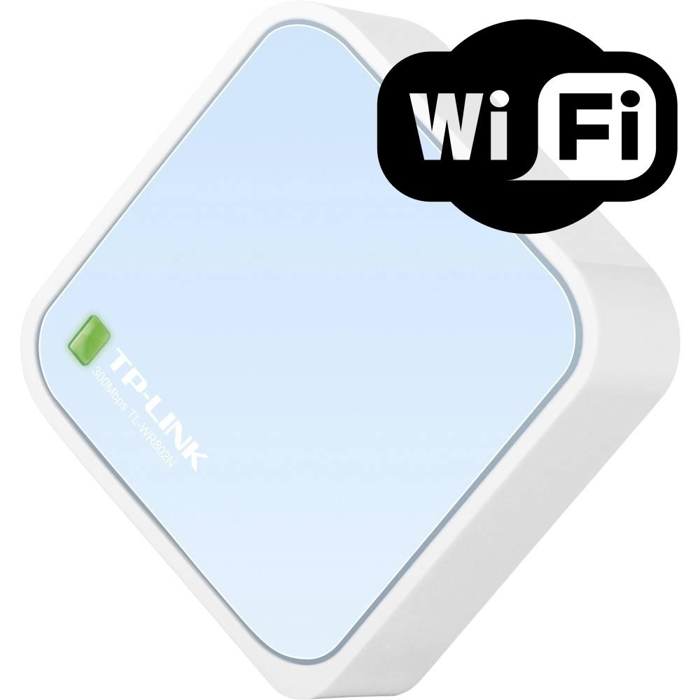 TP Link 300 Mbps router pro bezdrátové sítě - TL-WR802N