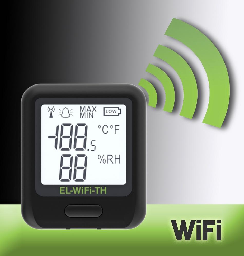 Corintech WiFi datalogger teplota-vlhkost WiFi-TH