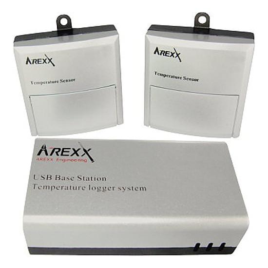 Arexx USB Logger záznamník vč. bezdrátových čidel teploty TL-510