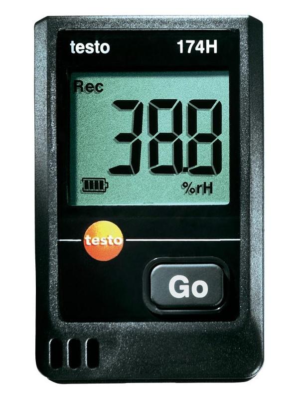 Mini-datalogger teploty a vlhkosti s displejem testo 174H