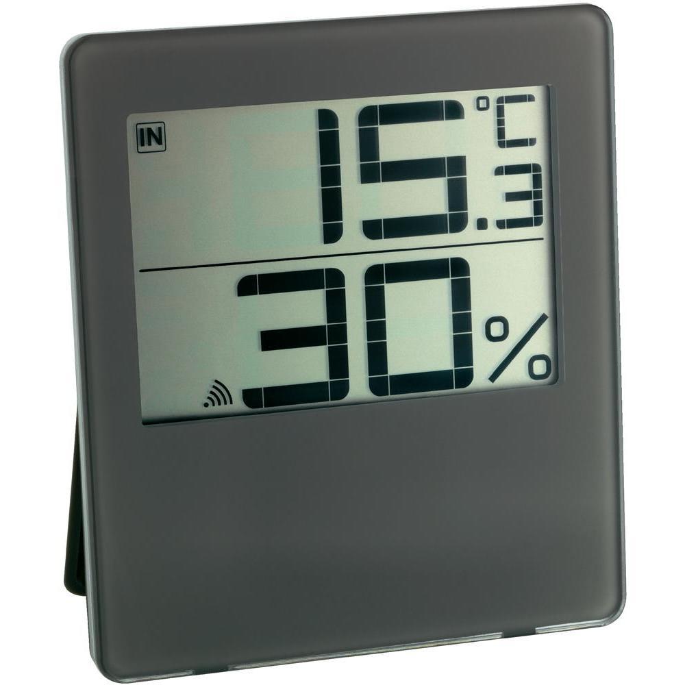 TFA Dostmann Bezdrátový digitální vlhkoměr-teploměr TFA 30.3052.08, hnědý