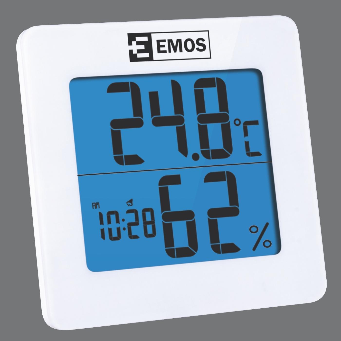 Digitální teploměr s vlhkoměrem EMOS E0114