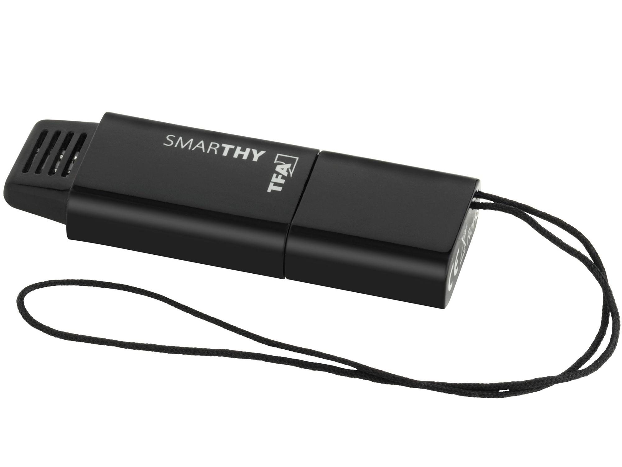 TFA Dostmann Teploměr a vlhkoměr pro smart-telefony TFA 30.5035.01 SMARTHY, černá