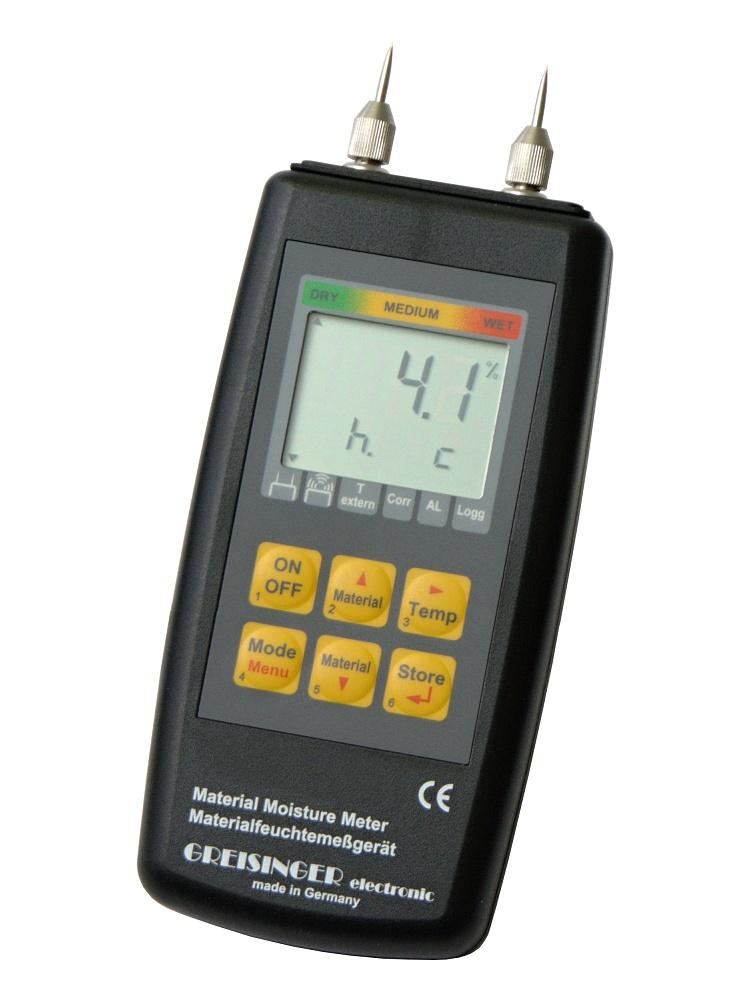 Hrotový vlhkoměr pro měření vlhkosti dřeva Greisinger GMH3810