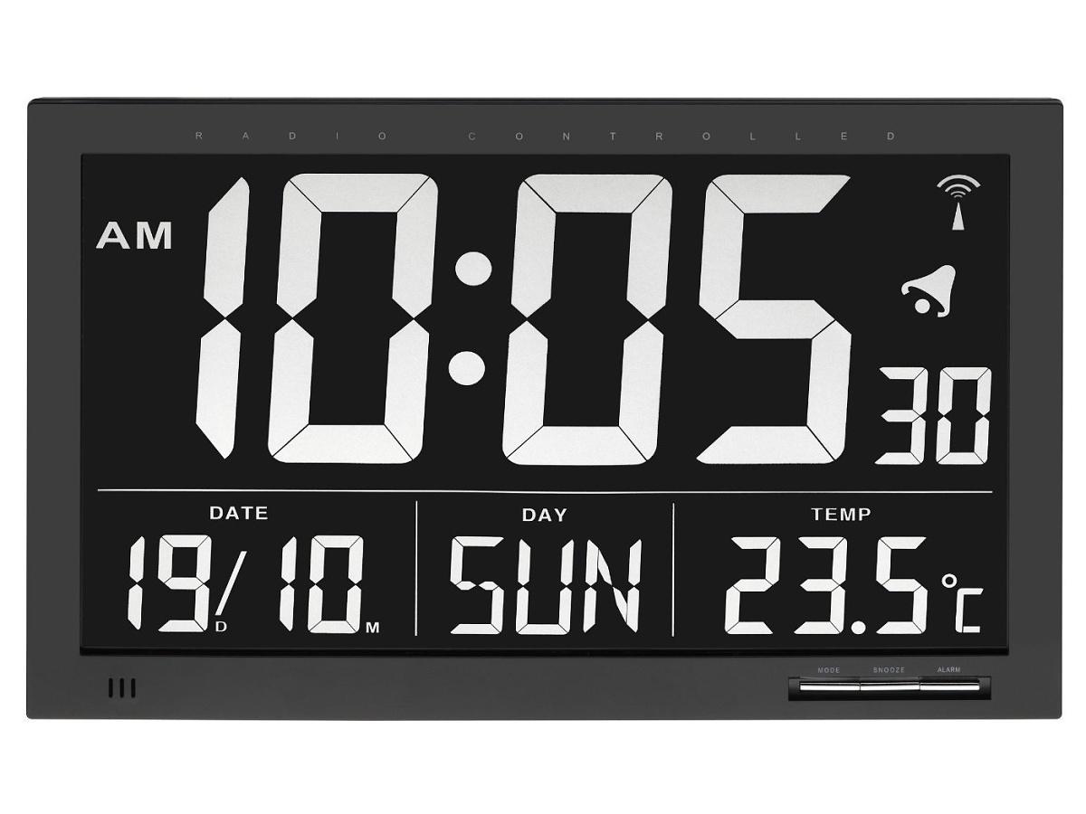 TFA Dostmann Velké nástěnné inverzní hodiny DCF - TFA 60.4505