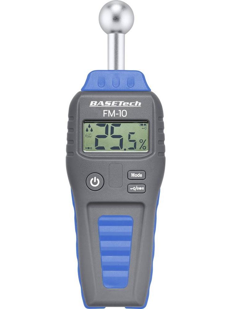 BaseTech Vlhkoměr na dřevo a stavební materiály FM-10