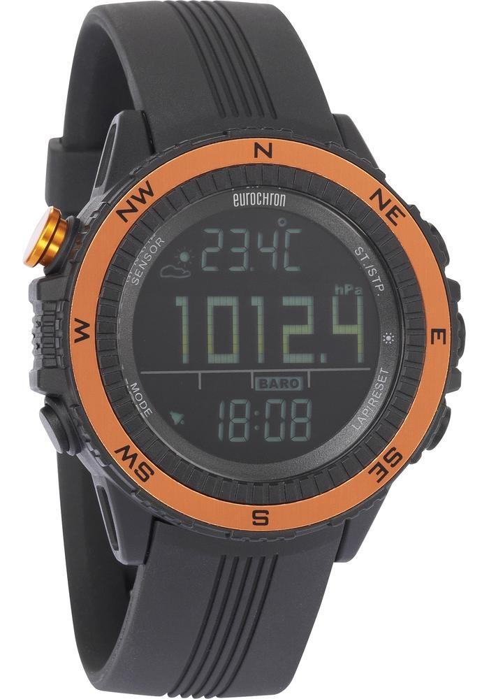 Outdoorové hodinky Eurochron EQAS 400, plast