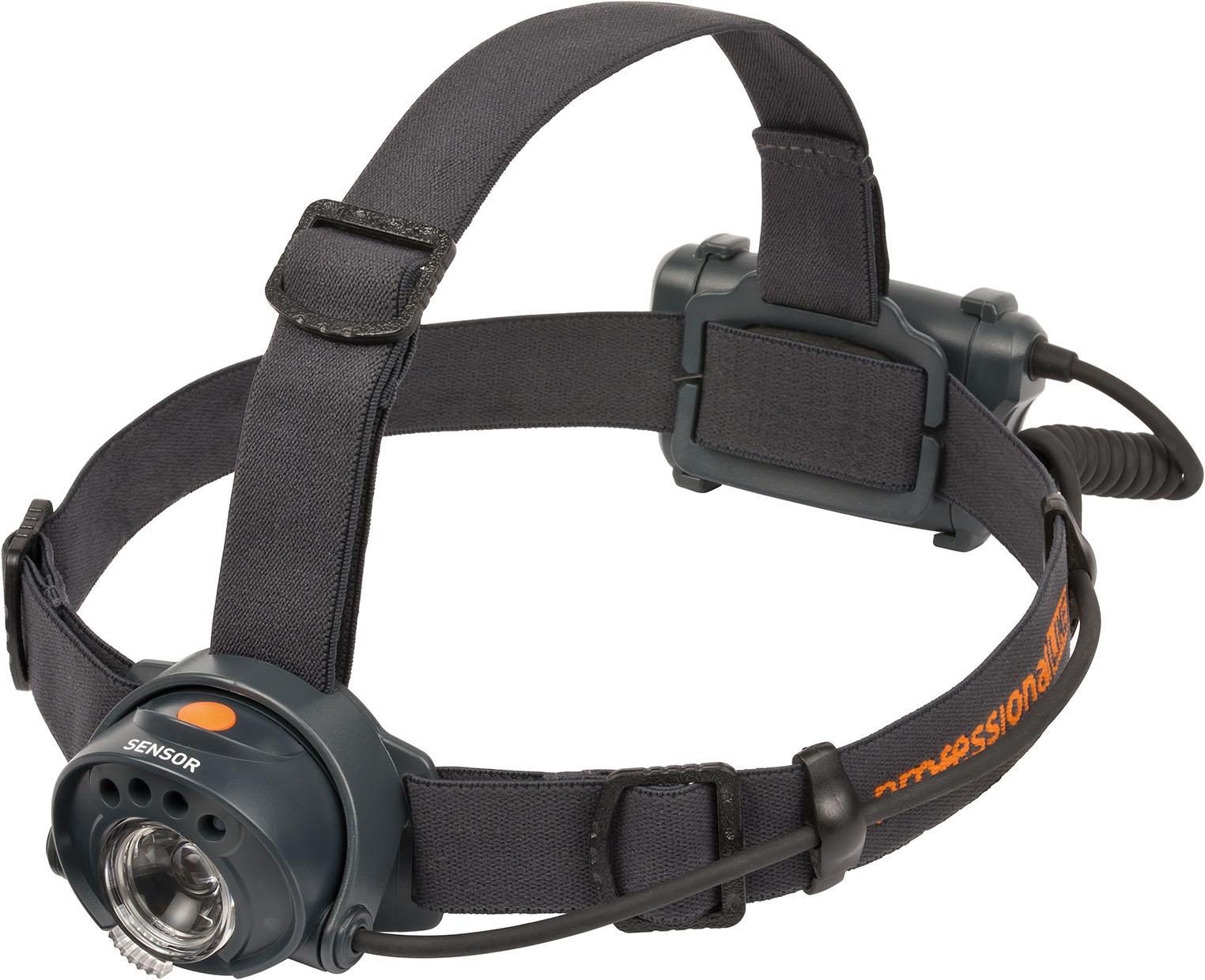 Brennenstuhl Profesionální LINE snímač LED čelovka KL200 IP44 3,5W 250lm 13h 3xAA | 9170200100