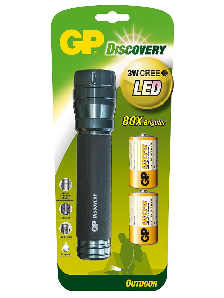 PROFI LED svítilna GP LOE404 Discovery Outdoor - 3 Watt CREE