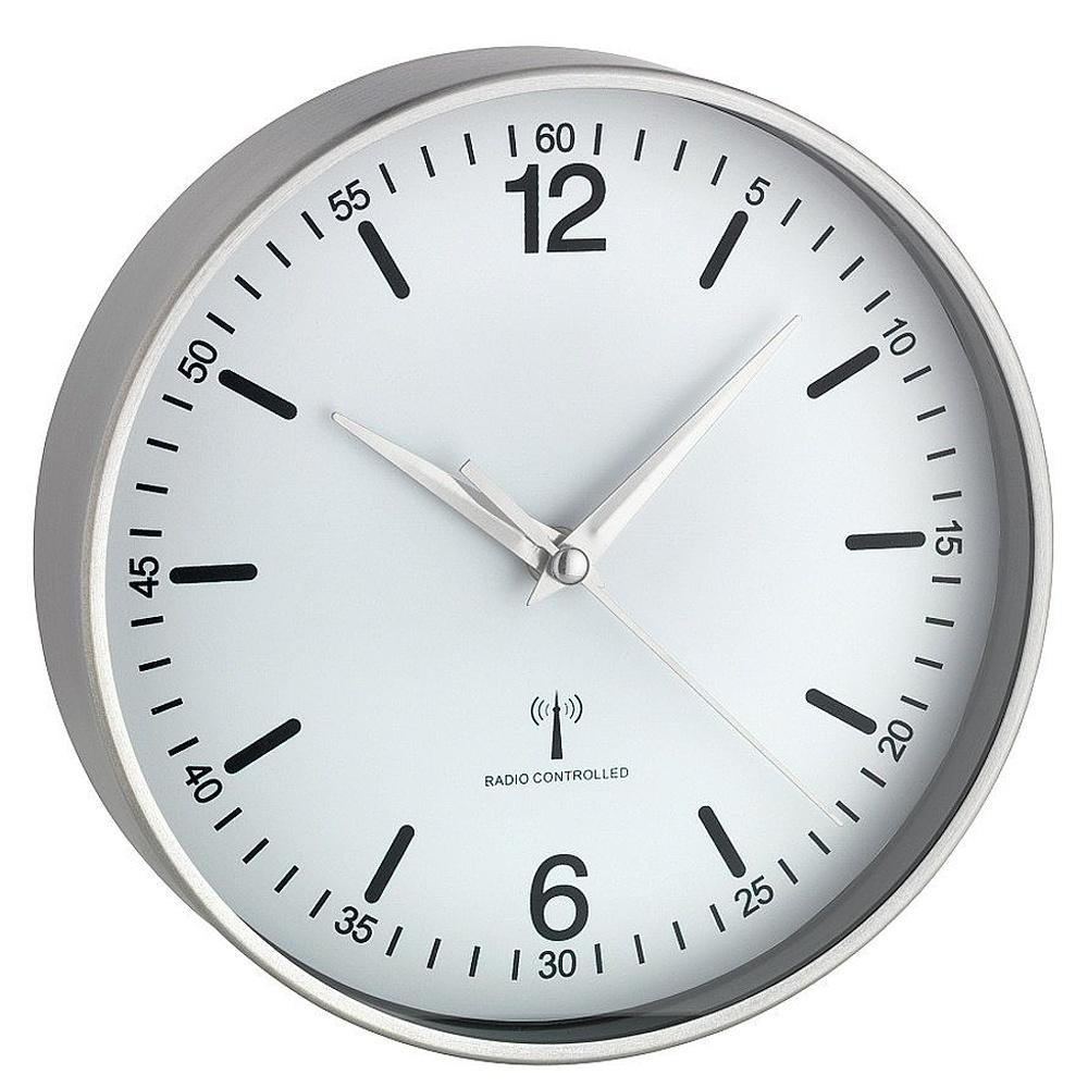 TFA Dostmann Nástěnné DCF hodiny TFA 60.3503.02, Ø 195 mm
