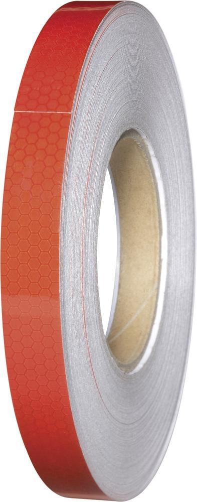 Reflexní lepicí páska Conrad RT19/45M-RD, 45 m x 19 mm, červená