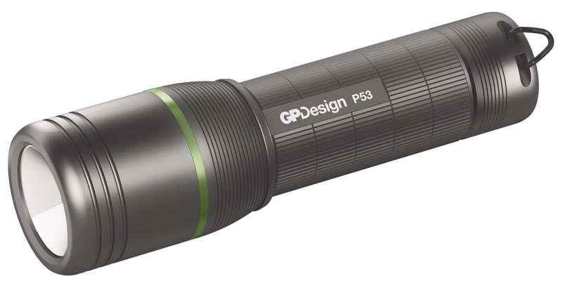 Emos LED svítilna GP P53 + 3x AAA baterie GP Ultra