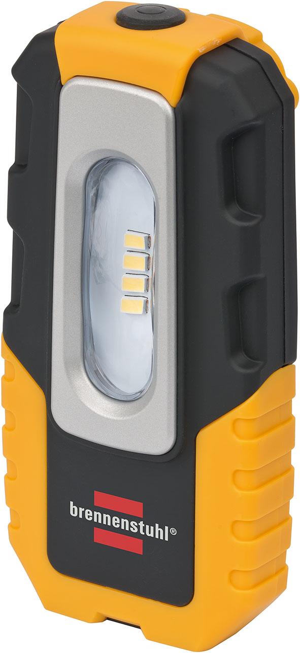 Brennenstuhl 4 LED nabíjecí ruční lampa HL DA 40 MH 220lm, hák, magnet, klip, skládací | 1176440