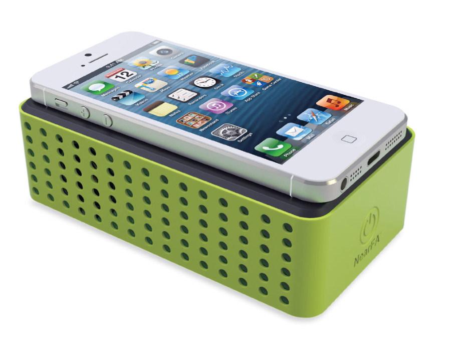 TFA Dostmann Bezdrátový reproduktor pro mobilní telefony TFA 98.1109.04