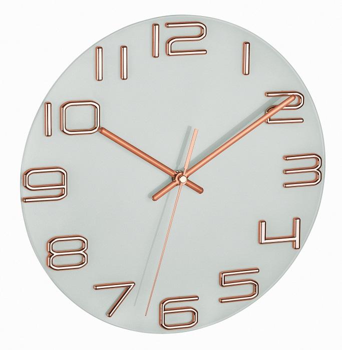 TFA Dostmann Nástěnné hodiny TFA 60.3043.51 s tichým chodem